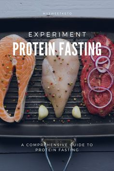 While many of you have heard of Egg Fast, I wonder if you've heard of Protein Fasting? I've decided to give it a try and share my results. #proteinfasting