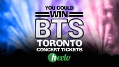 Win Free Concert Tickets in Toronto - Heelo App and How It Works - 🚨It's time for some giveaways!🚨 There are two prizes available, each consists of two - Free Concert Tickets, Bts Tickets, Free Concerts, Rogers Centre, Restaurant Coupons, Business Look, Funny Signs, Bts Boys, Ways To Save