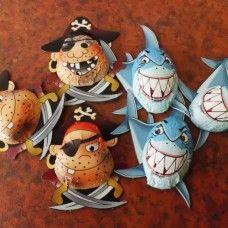 Chocolate Pirates & Sharks