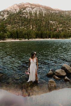 Lake Tahoe Intimate Wedding Ceremony — Ceremonies by Meredith Sand Harbor Lake Tahoe, Lake Tahoe Vacation, Intimate Wedding Ceremony, Lake Tahoe Weddings, Wedding Officiant, Beautiful Images, Marriage Celebrant