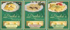 Photo: Drake's Pasta On Sale 06/18 - 06/24  at your Local Harris Teeter  Drake's Cheese Ravioli Drake's Florentine Ravioli Drake's Portabella Mushroom Ravioli