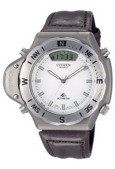 1989. The world's first combination watch with altimeter and barometer functions
