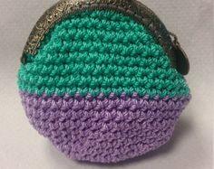 Pattern: Crochet Coin Purse N.2 por Pimentayflor en Etsy