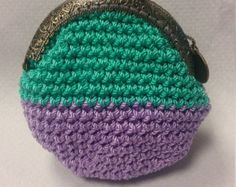Crochet Coin Purse by daiseychain on Etsy