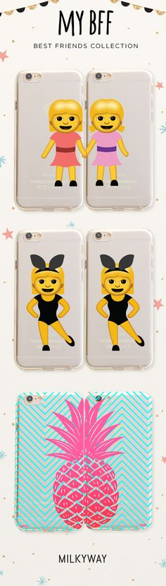 Who's your BFF? Check out these great ideas and suprise your best friend with a matching case.