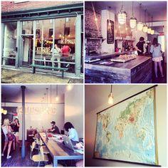 KITSUNÉ 19, Prince Arthur Ouest Montréal. An interesting looking coffee shop.