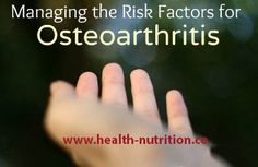 Top Tips for Fighting Osteoarthritis -14 Do's and Don'ts From Top Rheumatologists-Your knees shriek as you walk upstairs and hands hurt when opening a jar. Is it just age or the most common form of arthritis – osteoarthritis? Learn how to heal your deteriorating joints. Click Here: http://www.health-nutrition.co/top-tips-for-fighting-osteoarthritis/