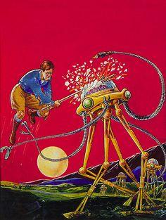 Illustration by Frank R. Paul