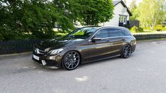 Mercedes-Benz S205 on R20 Vossen CVT Rims | BENZTUNING