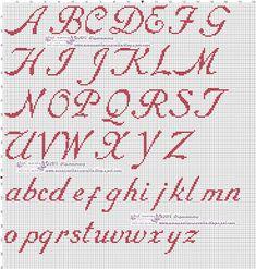 Cross Stitch Alphabet, Cross Stitch Kits, Cross Stitch Patterns, Crochet Patterns, Printable Letters, Alphabet And Numbers, Baby Decor, Pin Cushions, Needlepoint