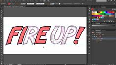 Get fired up about hand-drawing your own letters in Illustrator with this week's Deke's Techniques tutorial.