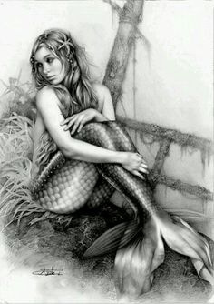 Mermaids- adventure, the tonal work is amazing! Shows a sad side of a mermaid and more ordinary.