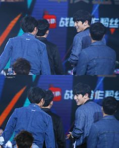 Chanyeol, Baekhyun - 160409 16th Top Chinese Music Awards Credit: ChubbyBunnies. (第十六届音乐风云榜年度盛典)