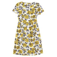 Set-In-Sleeve Slub Dress | Dresses | CathKidston