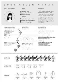 Gallery of The Top Architecture Résumé/CV Designs - 8