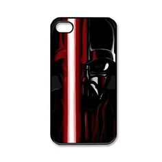 Popular Star Wars Calm Darth Vader Pattern Plastic Hard Case Cover for iPhone 4/4S – USD $ 3.99