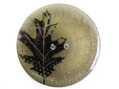 """Handmade Resin Button - 2 1/8"""""""