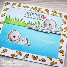 Love these otters by MFT