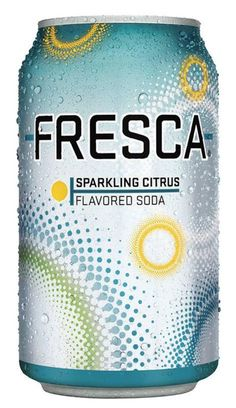 Summer drink of choice only two years older than me!  Fresca is a citrus diet soft drink made by The Coca-Cola Company. First introduced in the United States in 1966, the drink is now sold throughout the American continent.