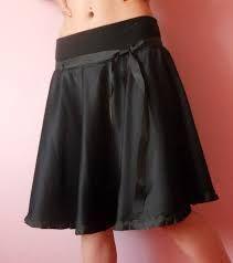 Výsledek obrázku pro půlkolová sukně střih