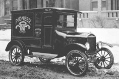 1924 Ford Model T with panel body