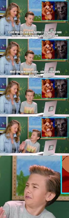 When you find out your mom is a freak. Love beauty and the beast, this is great tho XD