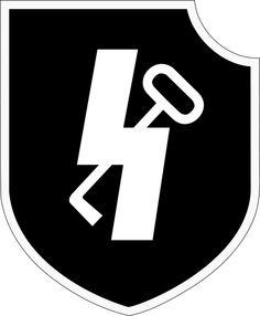 Insignia de la 12ª SS División Panzer Hitlerjugend compuesta por miembros provenientes de las Juventudes Hitlerianas..
