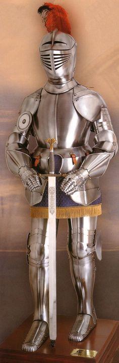 Armadura medieval gladius