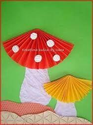 Znalezione obrazy dla zapytania prace plastyczne dla dzieci grzyby