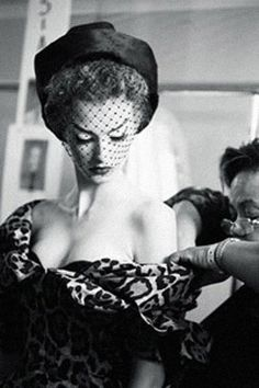 Vintage Glamour 1950's /  Christian Dior