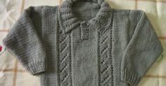 Crochet Blusas Design Crochet et Tricot da Mamis: Blusa Infantil em Tricot - Receita Crochet Bodycon Dresses, Black Crochet Dress, Knit Or Crochet, Knit Vest, Baby Cardigan, Knitting Designs, Knitting Patterns Free, Knitting For Kids, Baby Knitting