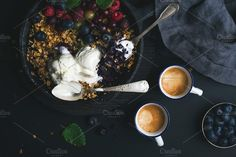 Food Photography Healthy breakfast by Foxys on @creativemarket