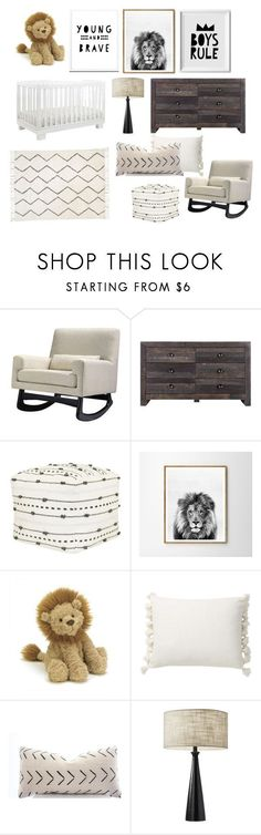 """baby boy nursery 2"" by breecardiel on Polyvore featuring interior, interiors, interior design, home, home decor, interior decorating, Nursery Works, Moe's Home Collection, Nate Berkus and WALL #nursery #nurserydecor #nurseryart #nurseryideas #kidsroom #neutral #design #babyroom #nordic #nordicinspiration #nordicdesign #minimal #minimalism"