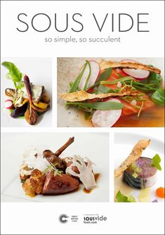 Just a few recipes but really fine dining with pinch of molecular gastro