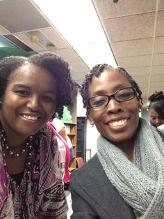 With author Rhonda McKnight at South Fulton Library GA...in honor of National Authors day