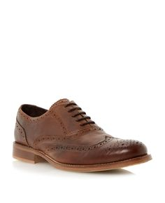 ef5796dc0e82c Buy Brown Bertie Byron Brogue Shoes from our Men's Shoes, Boots & Trainers  range at John Lewis & Partners.