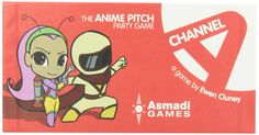 Channel A: The Anime Pitch Party Game