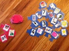 Red Fish and Blue Fish Rhyming Game using the words from One Fish, Two Fish, Red Fish, Blue Fish, Great for Dr. Seuss' Birthday Week. http://missdanasgames.wordpress.com/2011/03/06/red-fish-and-blue-fish/