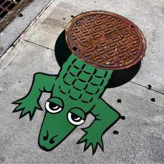 Tom Bob Street Art Installation