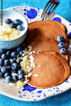 Kefir, Pcos, Pancakes, Breakfast, Fitness, Morning Coffee, Pancake, Crepes