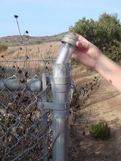 Fence cap containers are easy to hide from the prying eyes of pesky muggles, and difficult to find if you have never seen one before.