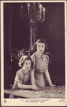 Elizabeth and Margaret  (QUEEN ELIZABETH AT A YOUNG AGE)