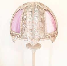 Cream metal floor lamp with reflector shade and alabaster base $125  Victorian pink glass and metal shade $100  They pair well together. $225 Metal Floor, Better Together, Floor Lamp, Victorian, Base, Shades, Cream, Pink, Home Decor