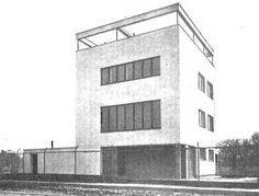 Warszawski Modernizm 1905 - 1939 International Style, Le Corbusier, Warsaw, Bauhaus, Multi Story Building, Arches, House, Bows, Home
