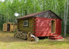 Timber Frame Cabin by bc thunder http://www.cabinbuilds.net/timber-frame-build-by-bc-thunder