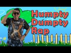 My Humpty Dumpty Rap is the traditional nursery rhyme, but a with contemporary kid - friendly music. Humpty Dumpty Rap has easy movement parts too so young children can follow along. Humpty Dumpty Rap has a great beat and will get your children movin' and developing their rhyming awareness. Have lots of fun singing and moving to this nursery rhyme Humpty Dumpty Rap.