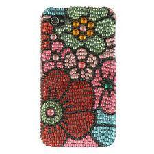 Full Diamond Case Flower Power for iPhone 4/4S