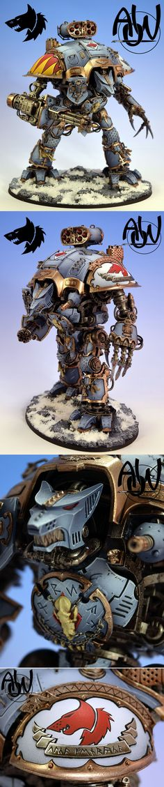 Space Wolf Knight Titan