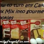 How to Turn a Cake Mix Into a Gourmet Cookie