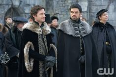 "Reign -- ""Forbidden"" -- Image Number: RE215a_0226.jpg -- Pictured (L-R): Ben Aldridge as Antoine and Sean Teale as Conde -- Photo: Sven Frenzel/The CW -- © 2015 The CW Network, LLC. All rights reserved.pn"